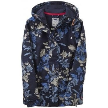 Ladies Printed Coast Waterproof Jacket