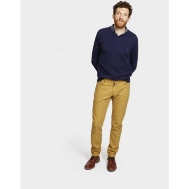 Mens 5 Pocket Coloured Trouser