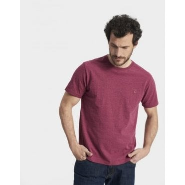 Mens Marl Short Sleeve Tee