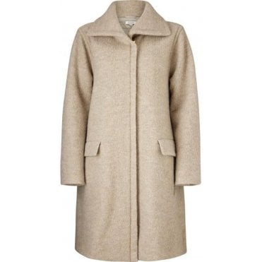Thelma A-Shaped Long Sleeved Coat