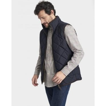 Mens Bradwell Sherpa Lined Quilted Gillet