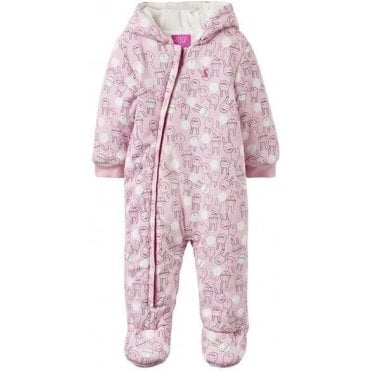Baby Snugg Wadded Jersey Pramsuit