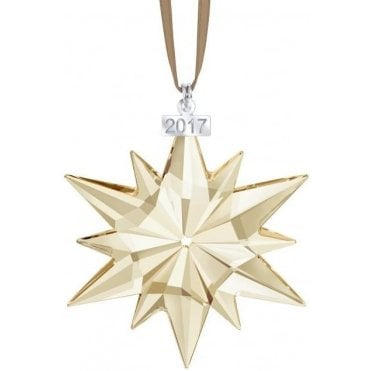 Large Star Ornament 2017