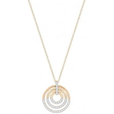Rose Gold Circle Pendant