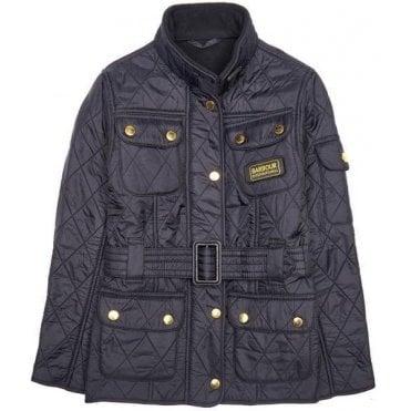 Girl's International Quilted Jacket