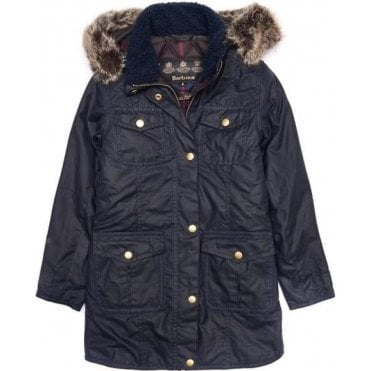 Girl's Ashbridge Waxed Jacket