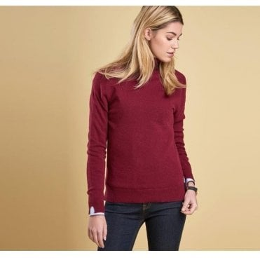 Women's Mill Roll Collared Fine Knit