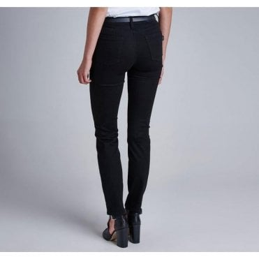 Womens International Overbore Skinny Jeans