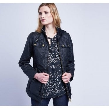 Womens International Heyford Waxed Jacket