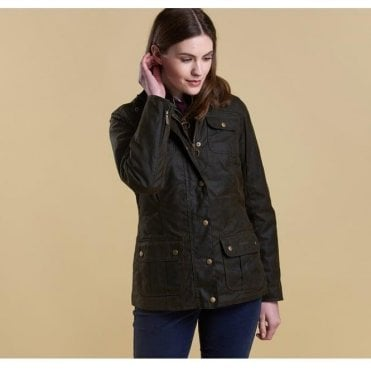 Womens Ashley Waxed Jacket