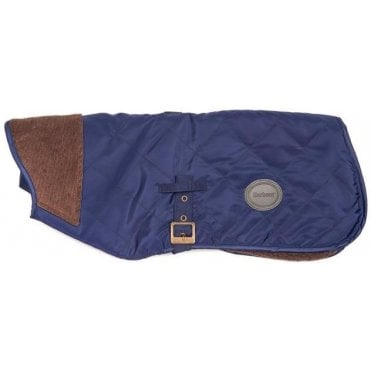 Quilted Jacketed Boy Dog Coat