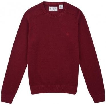 Long-Sleeve Honeycomb Pique Sweater