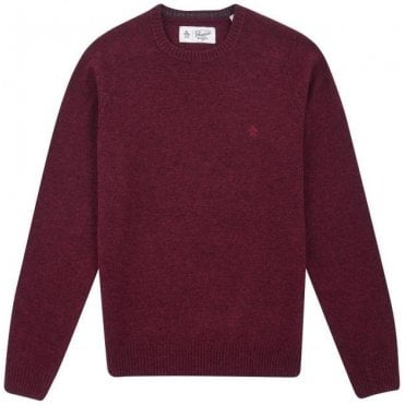 Men's Lambswool Crew Neck Jumper