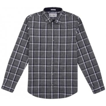 Men's Jaspe Brushed Flannel Shirt