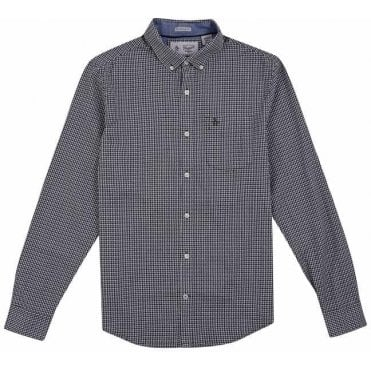 Men's Mini Dot Gingham Shirt