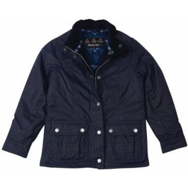 Girl's Trow Waxed Jacket
