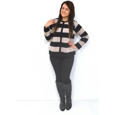 Lorette A-Shaped Long Sleeved Cardigan