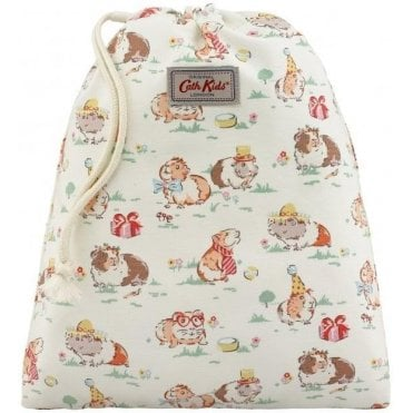 Pets Party Drawstring Wash Bag