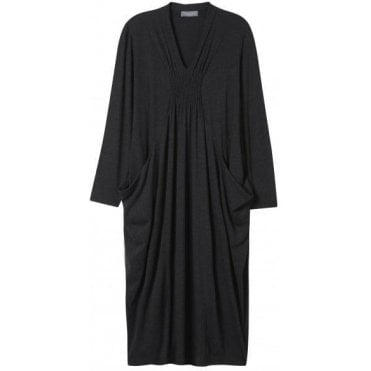 Soft Jersey Ruched Dress