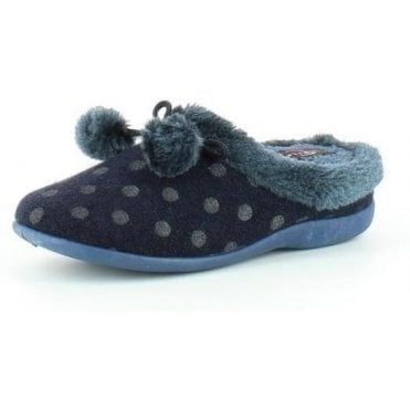 Pom Pom Ladies Slippers