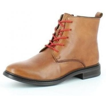 Colton Ladies Leather Ankle Boots