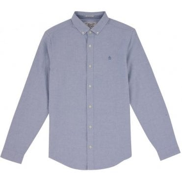 Men's Long-Sleeve Oxford Stretch Shirt