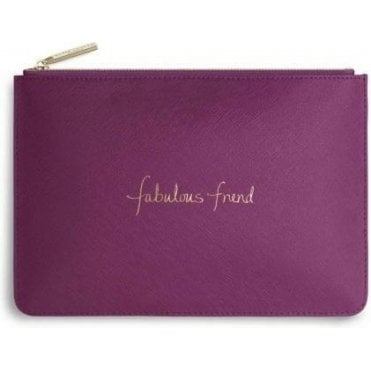 Fabulous Friend Perfect Pouch in Cerise Pink