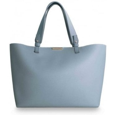 Piper Soft Powder Blue Tote Bag