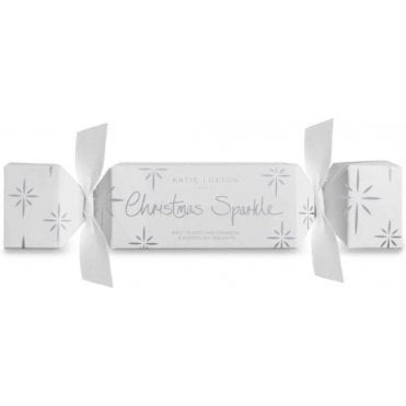 Christmas Sparkle Tealight Crackers in Sweet Almond And Cinnamon