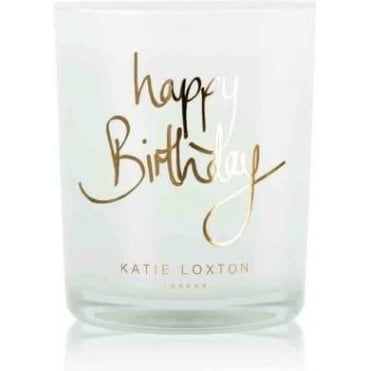 Happy Birthday Pomegranate And Sweet Apple Candle
