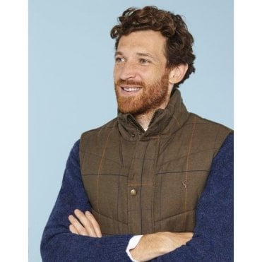 Mens Braden Quilted Gilet