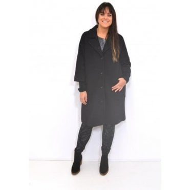 Tracy A-Shaped Long Sleeved Coat