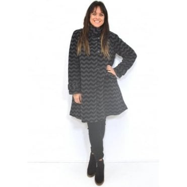 Tenna A-Shaped Long Sleeved Coat