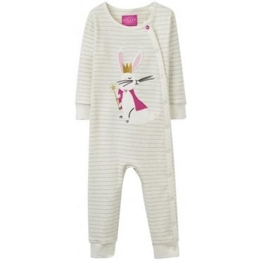 Baby Gracie Applique Babygrow