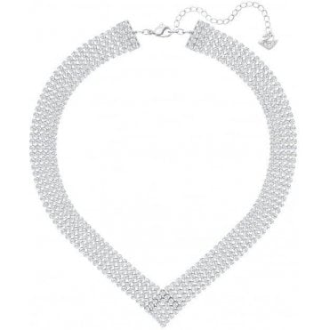 Fit Necklace, Silver, Palladium Plating