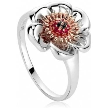 Welsh Poppy Ring