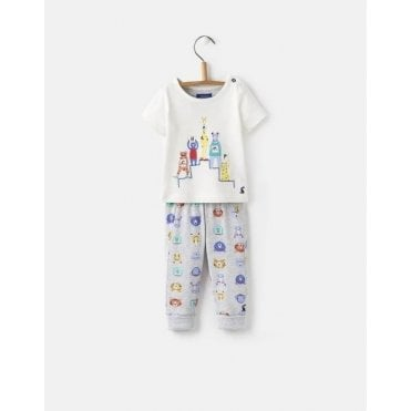 Baby Boys Doodle Two-Piece T-shirt and Trouser Set