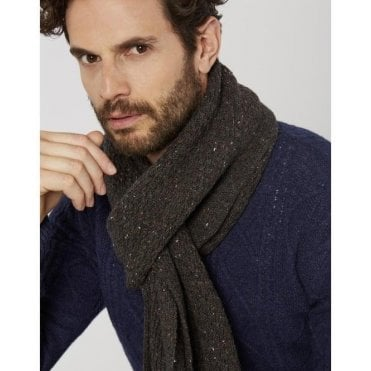 Mens Blyth Knitted Scarf