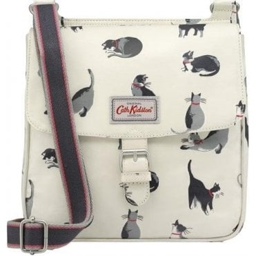 Painted Cats Tab Saddle Bag