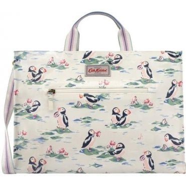 Puffins Open Carryall With Strap