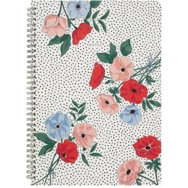 A4 Spiral Bound Notebook Saltwick Bunch