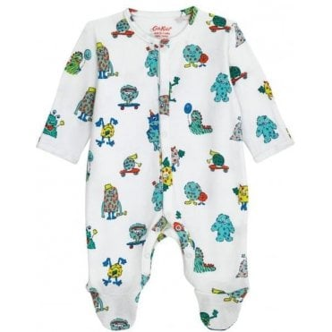 Mini Monsters Baby Sleepsuit 6-12 Months