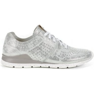 Women's Metallic Tye Trainers
