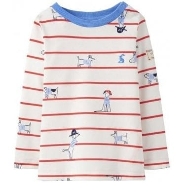 Baby Boys Harbour Printed Top