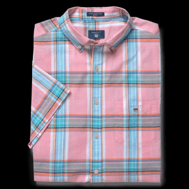 Men's Short Sleeved Indian Madras Shirt