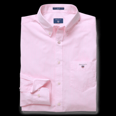 Men's Regular Broadcloth Banker Shirt