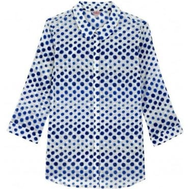 Ombre Spot Shirt in Size 12