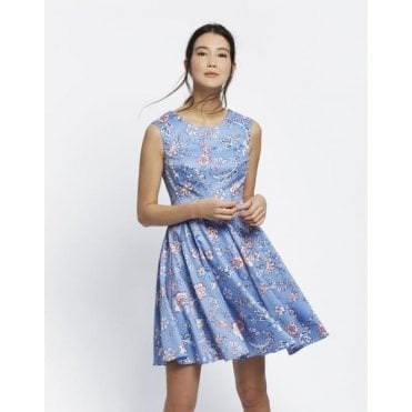 Women's Amelie Fit and Flare Dress