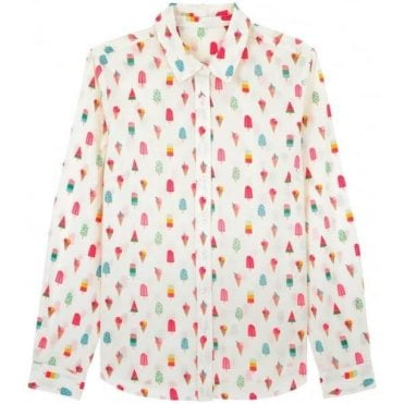 Lollies Cotton Shirt in Size 10