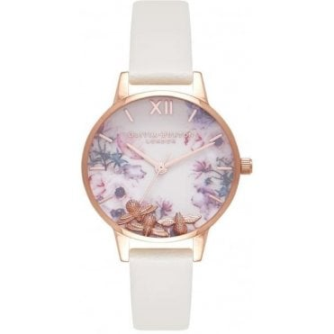 Busy Bees Nude & Rose Gold Watch